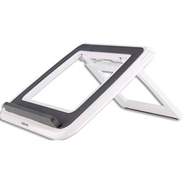 Support ordinateur portable Fellowes Quick Lift - Blanc (photo)