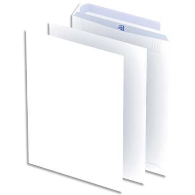 Pochettes blanches auto-adhésives Oxford - 100g - format C4 - 229x324 mm - boîte de 250