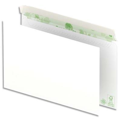 Enveloppes 100% recyclées 162x229 Oxford - blanches - auto-adhésive - 90g - boîte de 500 (photo)