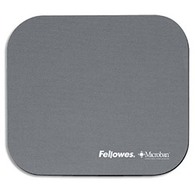 Tapis souris antibactérien gris Microban Fellowes