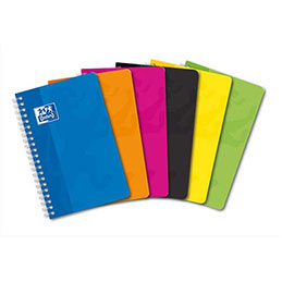 Carnet Oxford -spirales - 9 x 14 cm - 100 pages - 5x5 (photo)