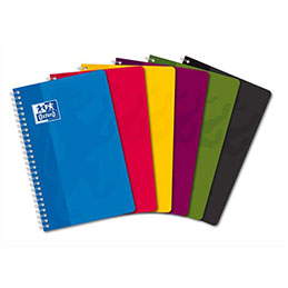 Carnet Oxford -spirales - 11 x 17 cm - 180 pages - 5x5 (photo)