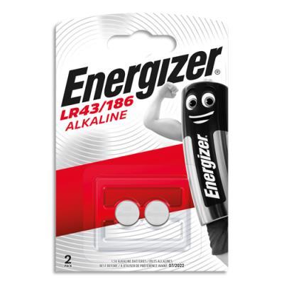 Piles Energizer mini LR43/186 - blister de 2 piles (photo)