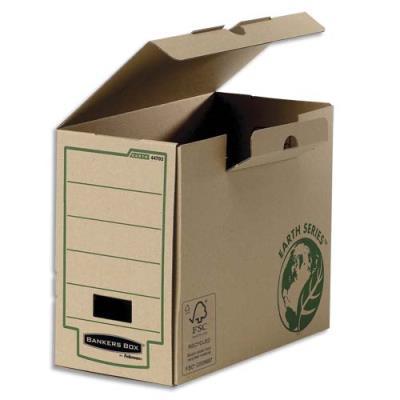 Boîte à archives Bankers Box Earth Series - dos de 20 cm - montage manuel