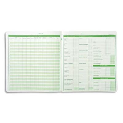 Piqûre budget dépenses ménagères Exacompta - 25 x 27 cm - 56 pages (photo)
