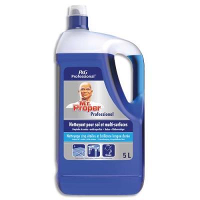 Nettoyant liquide multi-usages Monsieur Propre - parfum fraicheur Océan - bidon de 5L (photo)
