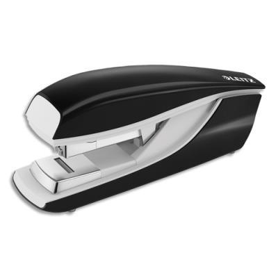 Agrafeuse Leitz 5523 technologie flat clinch - pour agrafes 24/6 et 26/6 - noire - capacité 40 feuilles
