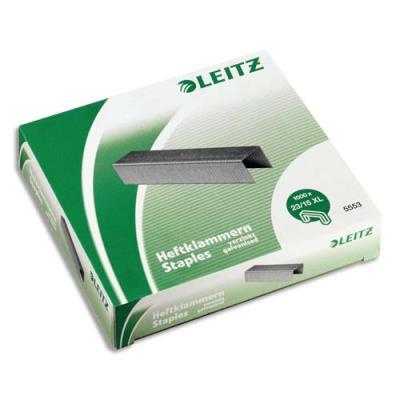 Agrafes Leitz 23/15xL pour agrafeuse 120 feuilles Flatclinch 5553 - Boite de 1000 (photo)