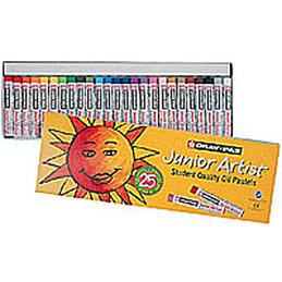 Boîte de 12 Cray-pass, petit module 8mm couleurs assorties Ecole (photo)