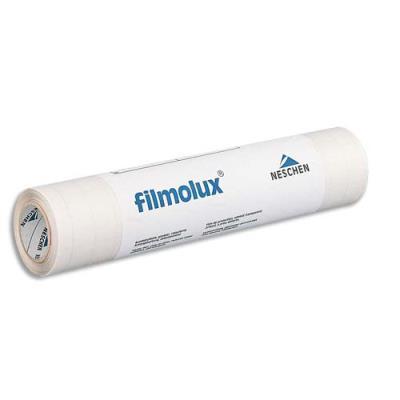 Couvre livre Filmolux cristal - film PVC souple - adhésif 1 face - 0,62 x 25 m (photo)