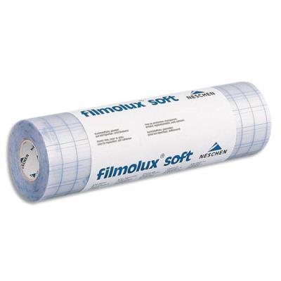 Couvre livre Filmolux cristal - film PVC souple - adhésif 1 face - 0,32 x 25 m (photo)