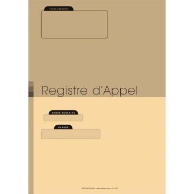 Registre d'appel sans découpe - A4 - 24 pages