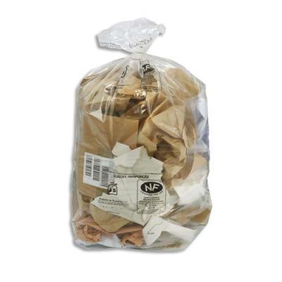 Sacs poubelles transparent - 110 L - 30 microns lot de 200 sacs (photo)