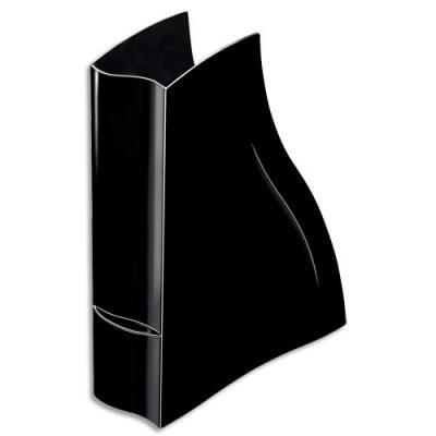 Porte revues Cep Isis - 8,3x32,5x27,8 cm - coloris noir (photo)