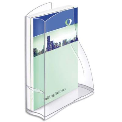 Porte revues Cep Isis - 8,3x32,5x27,8 cm - coloris cristal (photo)