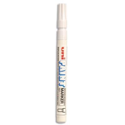 Marqueur peinture Uni Paint Px 21 à huile - encre à pigmentation blanc - pointe fine ogive