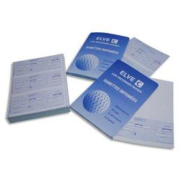Paquet de 300 lettres de change Lebon & Vernay - 21 x 29,7 - 100 feuilles - 3 traites prédécoupées par feuille (photo)