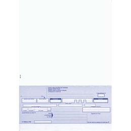 Paquet de 100 lettres de change Lebon & Vernay - 21 x 29,7 cm - 100 feuilles - prédécoupage en pied (photo)