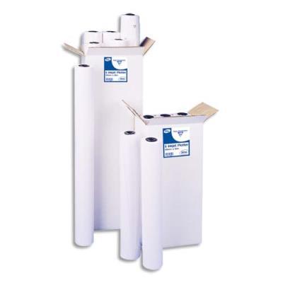 Bobine papier blanc pour traceur Clairefontaine - non couché - 90g - 0,914 x 45 m (photo)