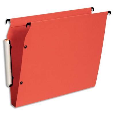 Dossiers suspendus Esselte Premium opaque - fond 30 - pour armoire - orange - paquet de 10