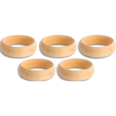 Bracelet en bois / Diamètre 7 cm , épaisseur 2,5 cm (photo)