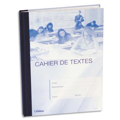 Cahier de texte de la classe 264 pages Ecole