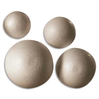 Boules en styropor 8 cm (photo)