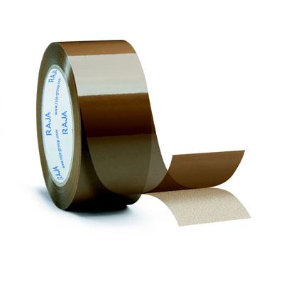 Ruban adhésif d'emballage standard en polypropylène - 28 microns - 48 mm x 100 m - havane - paquet de 36 unités