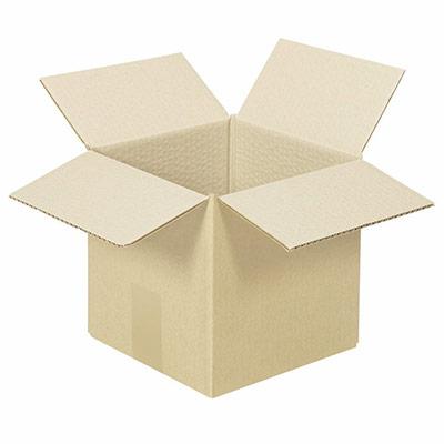 Caisse américaine simple cannelure 20 x 20 x20 - utilisation : cubique (photo)