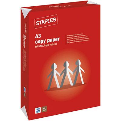 Papier A3 blanc 80g Copy Paper - ramette de 500 feuilles (photo)
