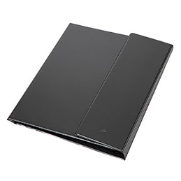 Porte bloc Alba - noir clapres