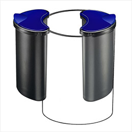 Compartiment de tri de 4,5 litres adaptable sur la corbeille Cep Confort (photo)