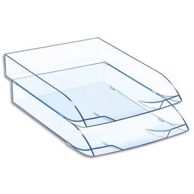 Corbeille à courrier Cep Ice Blue - 37 x 27 x 6.1 cm (photo)