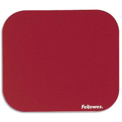 Tapis de souris économique Fellowes - rouge