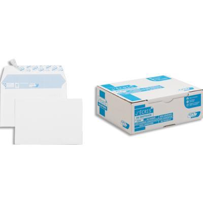 Enveloppes 114x162 GPV - blanches - auto-adhésives - 90g - boîte de 500