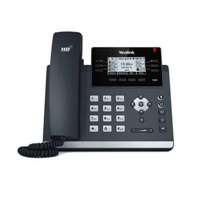 Téléphone IP SIP professionnel  Yealink T42S - noir