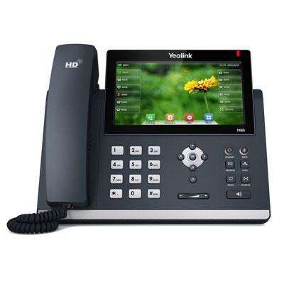Téléphone IP SIP professionnel YealinkT48S - noir