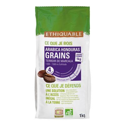 Café en grains Honduras arabica bio Ethiquable - 1 kg