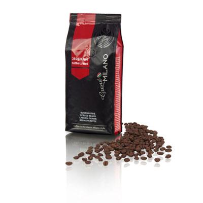 Café en grains Expresso - 100% arabica - Grand Milano - paquet de 250g