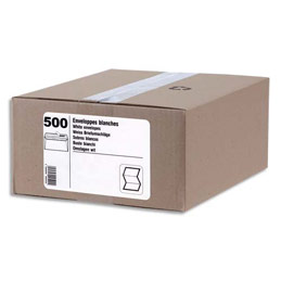 Boîte de 250 pochettes - kraft - auto-adhésives - 90g - format C4 229x324mm (photo)