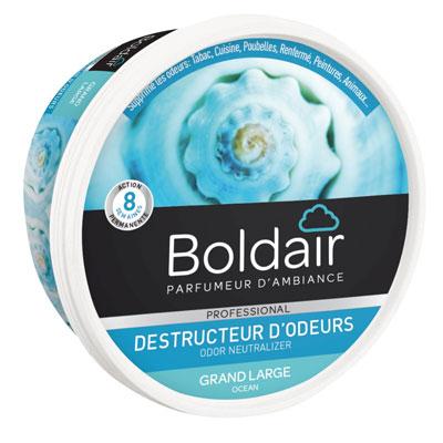 Gel désodorisant destructeur d'odeur Boldair - parfum neutre - 300g (photo)