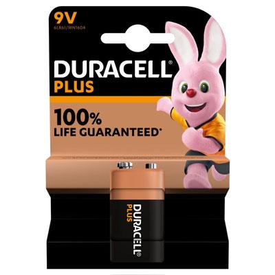 Pile alcaline 9 V / 6LR62 Duracell