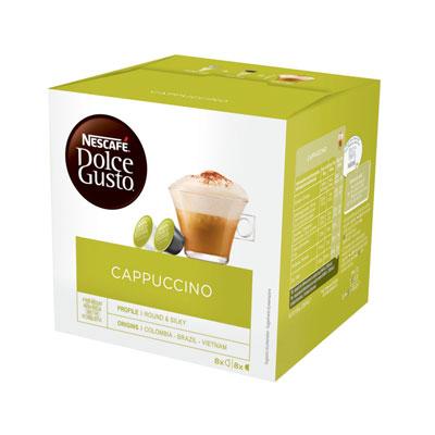 Cappuccino Nescafé Dolce Gusto - paquet de 16 capsules