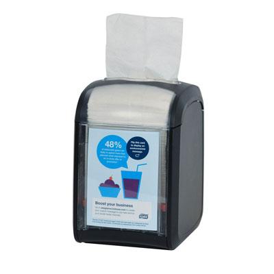 Distributeur de serviettes de table Tork Xpressnap Fit - noir