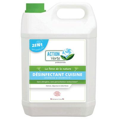 Désinfenctant cuisine Action Verte - bidon de 5 litres
