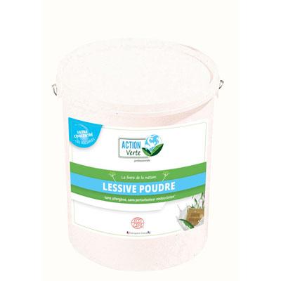 Seau Action Verte lessive poudre 145 d