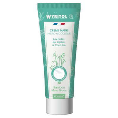 Crème hydroalcoolique tube Wyritol - bambou - 75ml