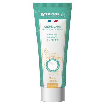 Crème hydroalcoolique tube Wyritol - monoi - 75ml