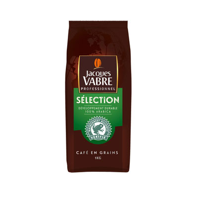 Café en grain Jacques Vabre - paquet de 1 kg