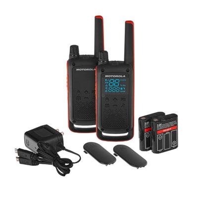 Pack de 2 talkies-walkies Motorola t83